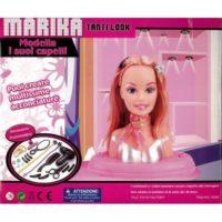 Testa Bambola Da Pettinare C/accessori   Strumenti Per Parrucchiera 3anni+