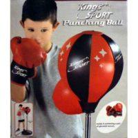 Punching Ball C/guantoni H.da 80 A 110cm Scatola: 36.5x48x7cm    Anche Da Esterno