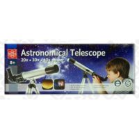 TELESCOPIO 30ZOOM - D.30MM OBIETTIVO +8A 41CM + TREPPIEDE 25CM