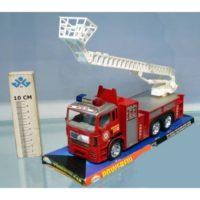 Camion Pompieri Frizione 31x10x15cm      Movimenti Reali Delle Parti In Plastica