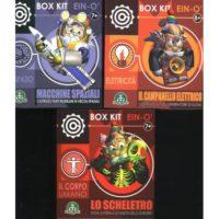 BOX KITS: CORPO UMANO SPAZIO ELETTRICITA 11X13X5CM 7+ANNI