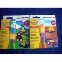 EFA-SCULPEY KIT ERASER CARS NEW