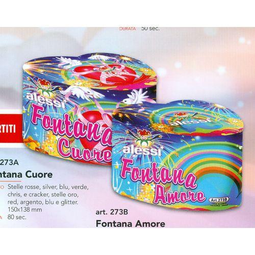 FONTANA CUORE/AMORE PZ.1 CM.15x14