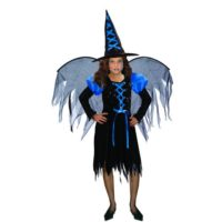 STREGA WITCH VESTITO+CAPPELLO+ALI 7/9