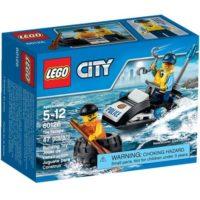 LEGO CITY POLIZIA FUGA CON GLI PNEUMATIC 122X91X59MM  5/12ANNI