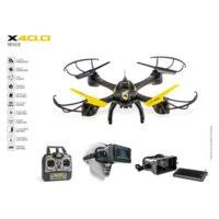 ULTRADRONE X40.0 VR RADIOCOMANDO         40X40X10CM-2.4GHZ-CAMERA HD720P-MICROSD