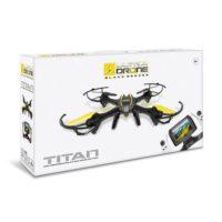 ULTRADRONE BLACK SERIES TITAN R/C +8ANNI 16X37.5X63.5CM-2.4GHZ-CAMERA HD 1280X720