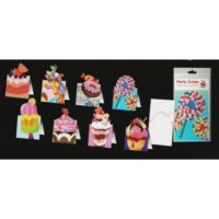 INVITI POP UP CAKES BL.8+8 BUSTE 9