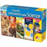 PICCOLO GENIO GRANDE LABORATORIO SCIENZE 8/12ANNI  56X51X7