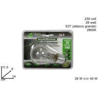 LAMPADINA ALOGENA GLS -30% 28W E27 230V