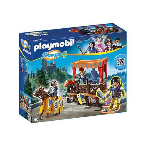 PLAYMOBIL 6695 TRIBUNA REALE CON ALEX    DIM.CM.28