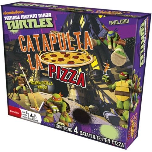 NINJA TURTLES CATAPULTA LA PIZZA