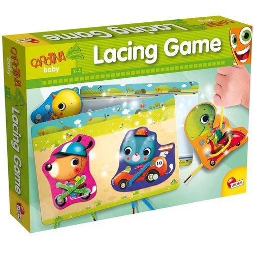 CAROTINA BABY LACING GAME 1-4ANNI        34.5 X 25.5 X 4.8 CM