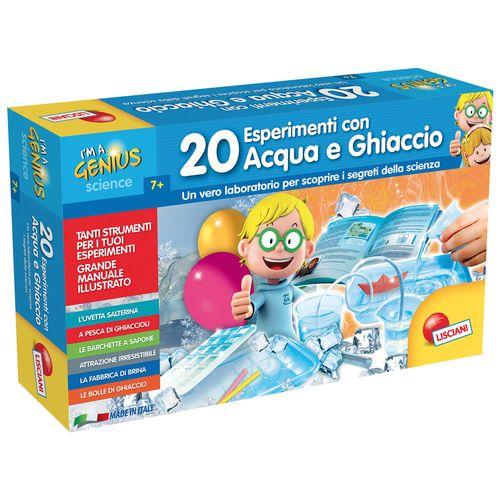 20 ESPERIMENTI CON ACQUA E GHIACCIO 7+A  I'M A GENIUS - 47X28.5X9.3CM