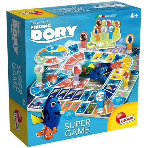 DORY SUPER GAME GIOCO DELL'OCA +4ANNI    25.5X25.5X6CM-LISCIANI-2/6 GIOCATORI