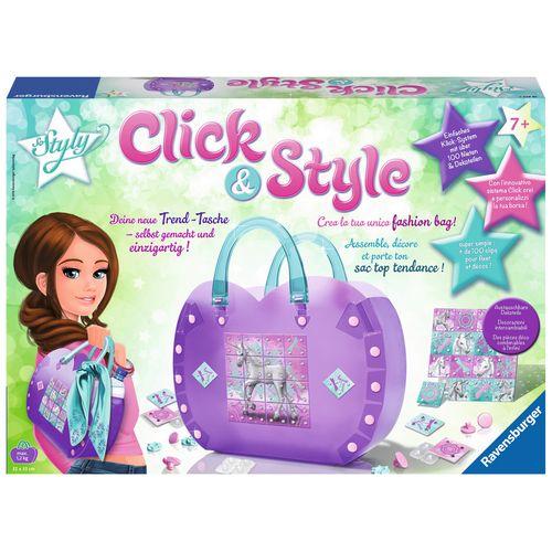 CLICK E STYLE UNICORNO BORSA A MANO 7+A  43X30X12CM