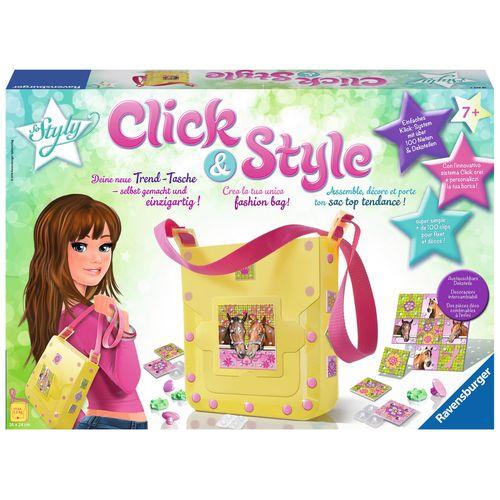 CLICK E STYLE PONY BORSA A TRACOLLA +7A  43X30X12CM
