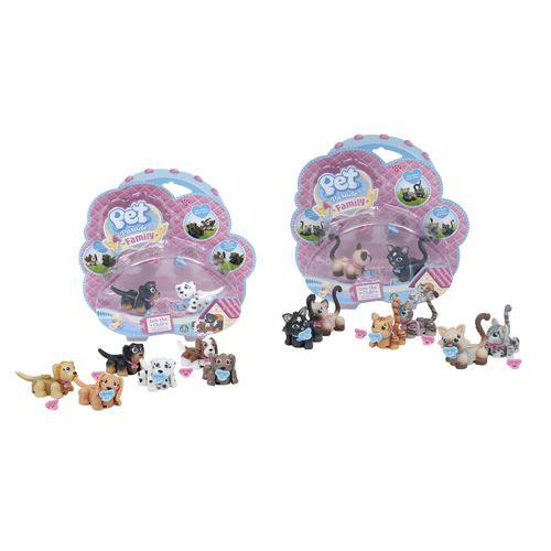 PET PARADE FAMILY BABY BLISTER 10CM 3+A  22X21X6CM-ARTICOLATI-12 SOGGETTI