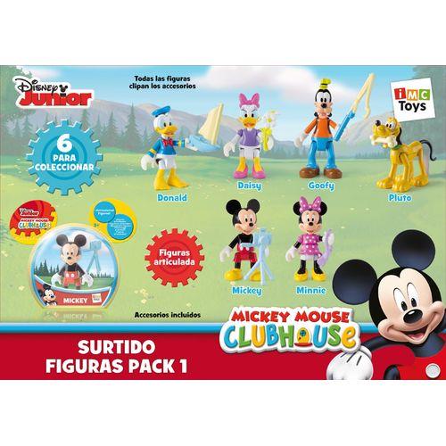 Mickey Mouse Clubhouse Pack1 6personaggi 15x17.5x5cm-+3anni-articolati C/access.
