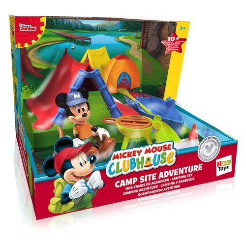 Mickeymouse Clubhouse Camping Set +3anni 20x15x20cm-15 Accessori-barca Galleggia