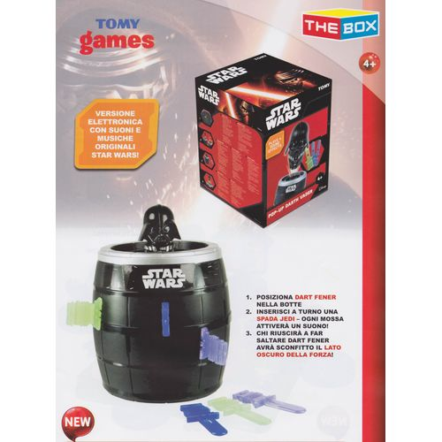 Pop Up Star Wars 15.5x21x15.5cm  4+anni  Versione Elettronica