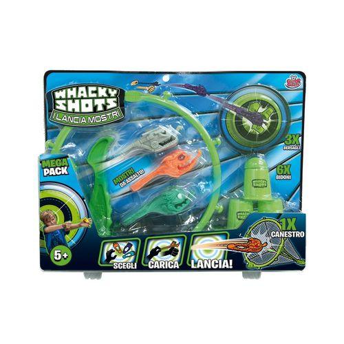 Whacky Shots Lanciamostri Mega Pack 5+a  27.5 X 4.5 X 35 Cm