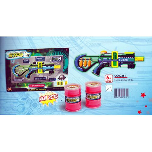 Fucile Cyber Strike 27x12x40cm 6+anni