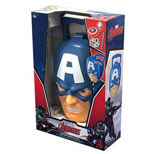 Valigetta Captain America 30x20x8cm +3a