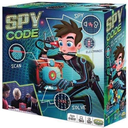 Spy Code 6+anni 2/4giocatori 20'gioco    26.5x26.5x11.5cm-cassaforte Elettronica