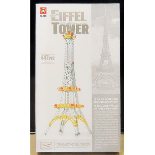 Costruzioni Metallo Torre Eiffel 447pz   Scatola: 41x23x4cm     +3anni