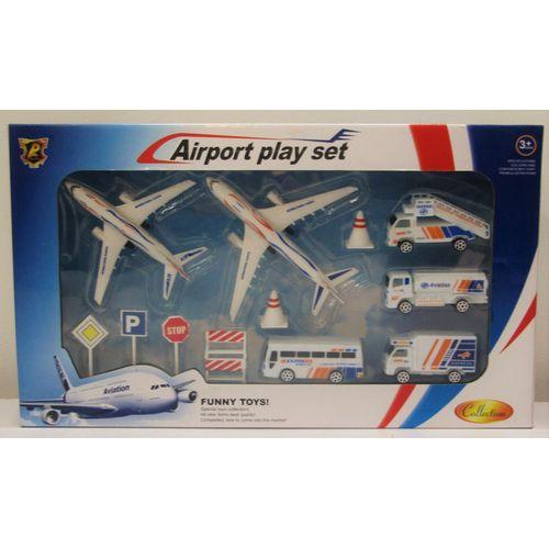 Set Aeroporto Plastica 42x24x7cm 3+anni