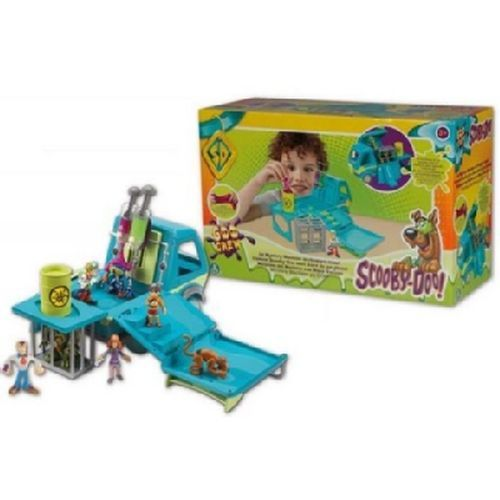 Scoobydoo Mistery Machine 38x24x16cm +3a Si Trasforma In Un Enorme Playset