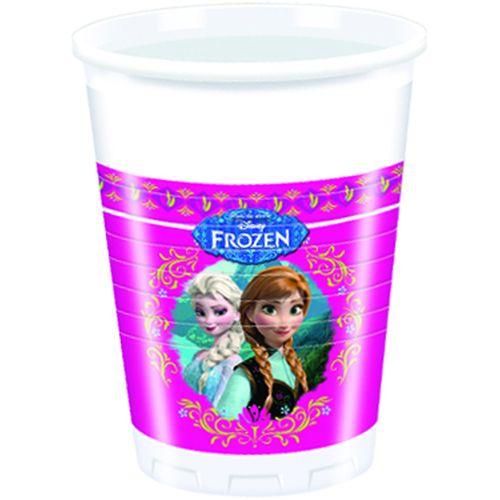 Bicchieri Cl.20 Pz.8 Plastica Frozen
