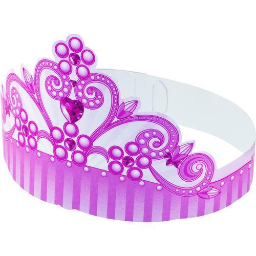 Fasce Testa 6pz In Carta Little Princess
