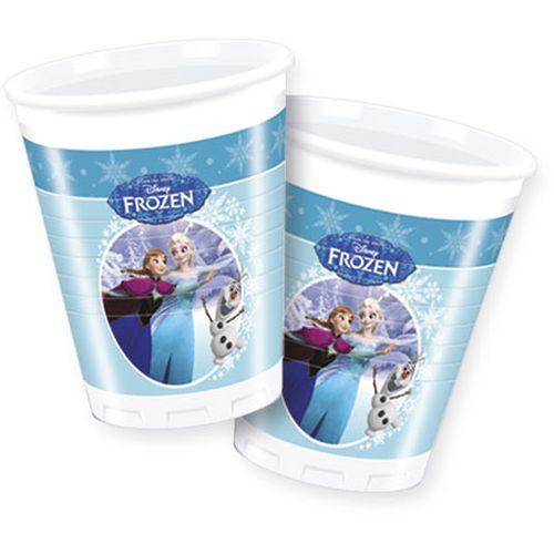 Bicchieri Ml.200 Pz.8 Frozen Ice Skating