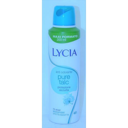 Lycia Antiodorante Spray 200ml Talco