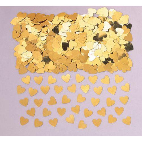Coriandoli Cuore Oro Metallizzati 14gr
