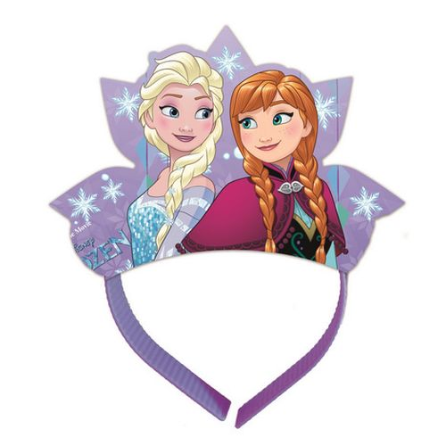 Coroncina Frozen Snowflakes 4pz
