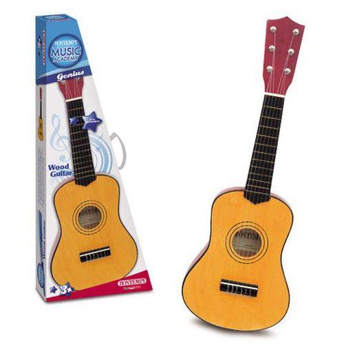 Chitarra Classica In Legno 6 Corde  55cm Accordabile-plettro-suono Realistico-+3a