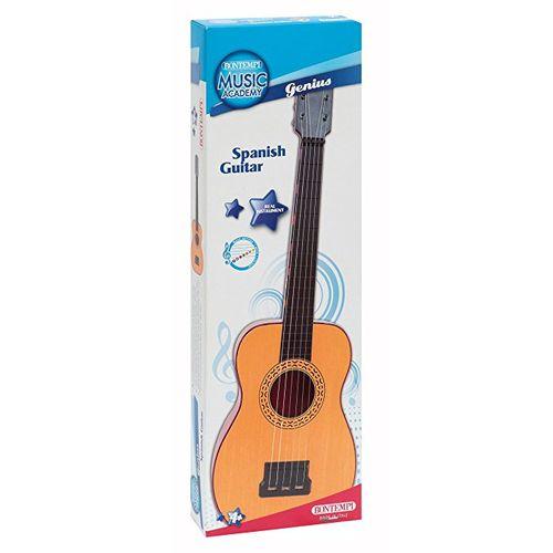 Chitarra Classica In Plastica 615mm +4a  C/tavola Armonica E Plettro-bontempi