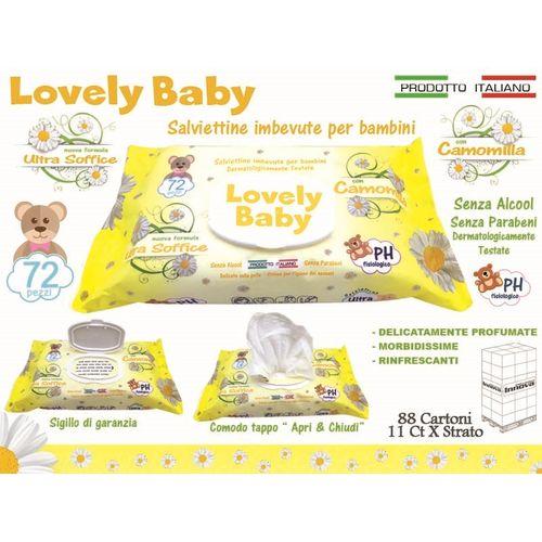 Salviettine Baby Camomilla 72pz