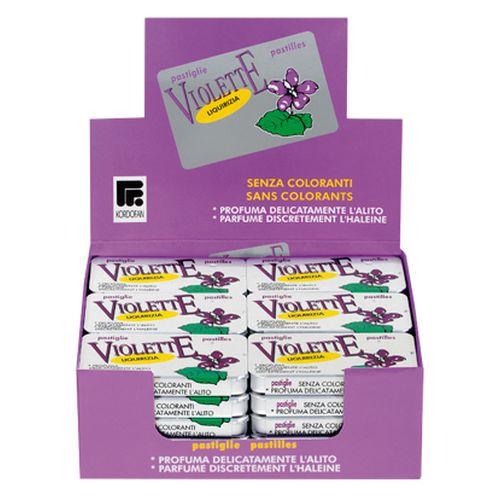 Mini Lattine Liquirizia Violetta 12g  30 7x4x1cm