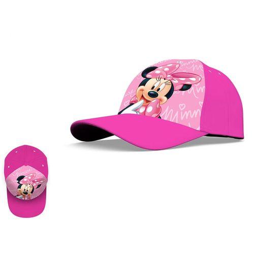 Minnie Cappello In Cotone C/visiera      Misure 52/54 Ass.te