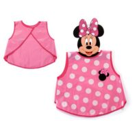Grembiule Attivita' Minnie 36x32cm       In Materiale Eva
