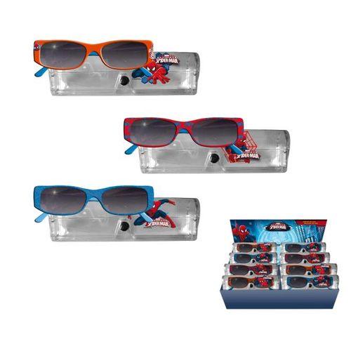 Occhiali Da Sole C/custodia Spiderman