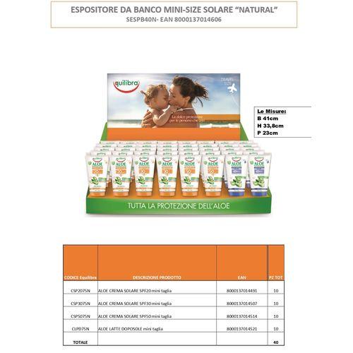 Solari Mini-size Expo Banco 40pz