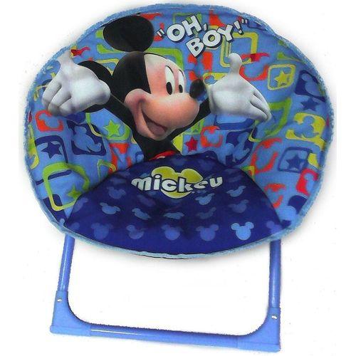 Sedia Moon Chair Mickey H.42cm           Diametro Seduta 52cm