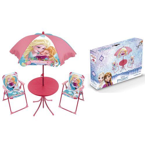 Frozen Set Giardino 4pz Tavolo 48x50x50  Ombrellone 10