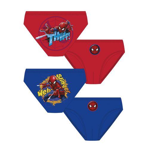 Costume Da Bagno-slip Spiderman 4/8 2s