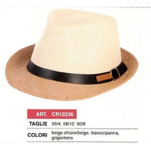Cappello Alpinetto Uomo Carta Bicolore   Assortito